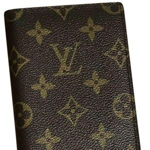 LOUIS VUITTON Monogram Wallet Address Book Vintage